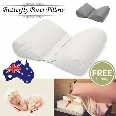 Baby Newborn Butterfly Posing Pillow Photography Photo Prop, Raindrop Poser WD