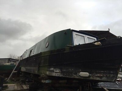 Wideneam narrow boat