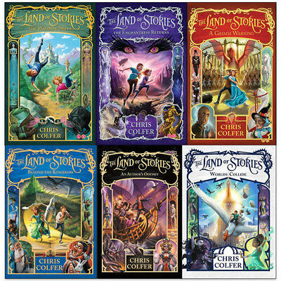 Chris Colfer The Land of Stories Enchantress Returns 6 Books Collection Set NEW