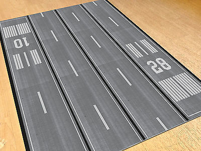 Model Airport Full Runway Layout Sheet - 1/500 and 1/400 scale