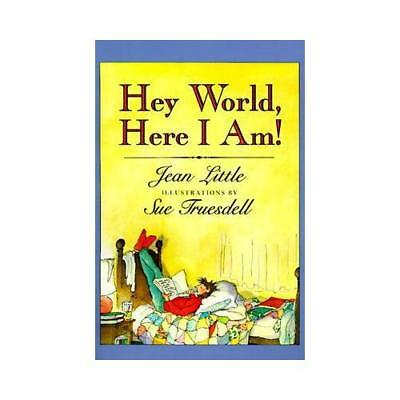 Hey World, Here I Am! by Jean Little (author)
