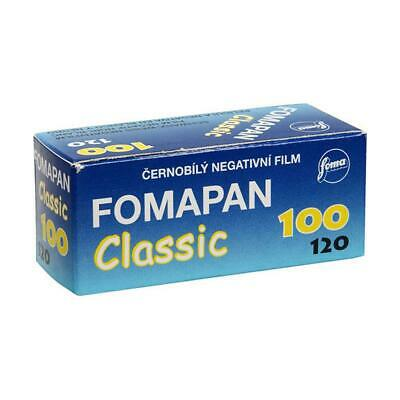 Foma Fomapan 100 Classic Black and White Negative Film, 120 Roll Film, 60mm Wide