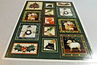 Marjolein Bastin green christmas stickers