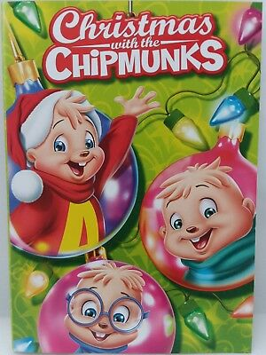 alvin and the chipmunks christmas with the chipmunks dvd movie new case - Chipmunks Christmas