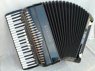 ELKAVOX ViNTAGE 120 Bass ITALY AKKORDEON Elektro Akustisches Accordion ELKA VOX