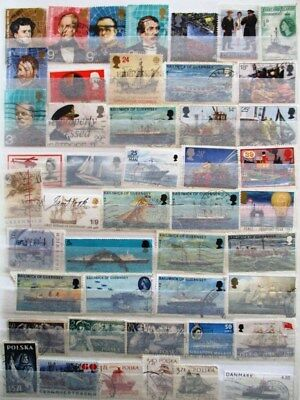 World maritime theme used stamp selection (46) just $2.40
