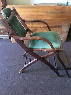 Antique Folding Hotel Barber/dentist