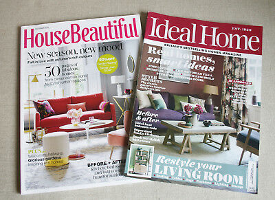 House Beautiful & Ideal Home Interiors Magazine October 2018