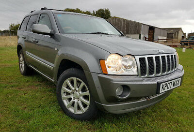 Jeep Grand Cherokee 3.0 CRD V6 Overland SUV 5dr Diesel Automatic 4x4
