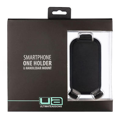 Ultimateaddons Motorcycle Universal Mount One Box Mobile Phone Holder Holder w/H