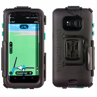 Ultimateaddons Motorcycle Waterproof *Tough* Mobile Phone Case - Samsung S8