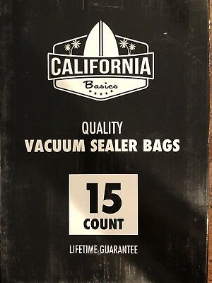New15pc Vacuum Storage Sealer Bags Space Saver & Pump 6 Sizes Jumbo XL Lg Med Sm