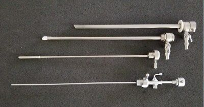 Storz 26055LD Resectoscope Sheath Set7mm with Std Obturator and Bridge