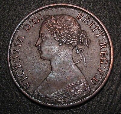 Old Canadian Coins Highgrade Nova Scotia 1861 Canada Half Cent Beauty Free Ship