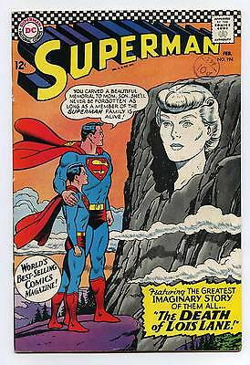 Superman #194 - DC - SILVER AGE - 1967 - FN