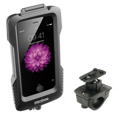 New - Interphone - Apple iPhone 6 Plus Case - Motorcycle Tubular Handlebar fitti