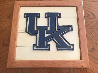 Hand Crafted Wood UK Sign
