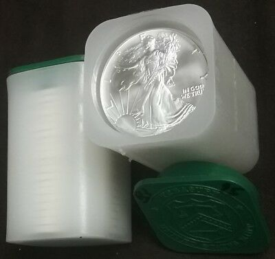 1995 Full Original 20 Coin Roll 1 Oz 999 FIne AMERICAN SILVER EAGLES New GEM BU