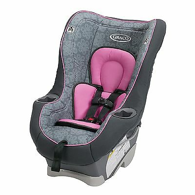 GIRL GRACO CONVERTIBLE CAR SEAT PINK GRAY 4-65 Lbs. Newborn Infant Baby Toddler