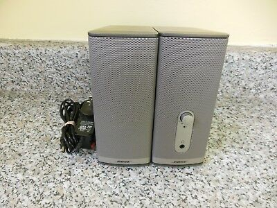 Bose Companion 2 Series II Multimedia Computer Speaker System BOX#11512