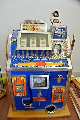 Mills Rockola 1930's Jackpot Reserve Slot Machine - Antique