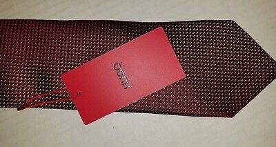 Hugo Boss Silk Necktie. New With Tag. Made in Italy.