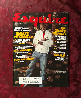 ESQUIRE magazine May 2006 DAVE CHAPPELLE LUCY LIU