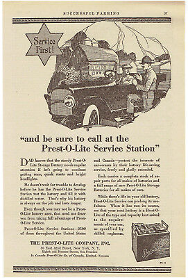 Merchandise & Memorabilia Vtg 1920 Storage Battery Prest O Lite 1920s Cars Driving In Nyc Print Ad