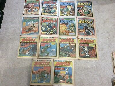 Battle Comics 14 In Total