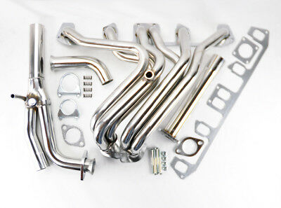 Performance Stainless Exhaust Manifold Header For Jeep Wrangler 87-90 4.2L I6