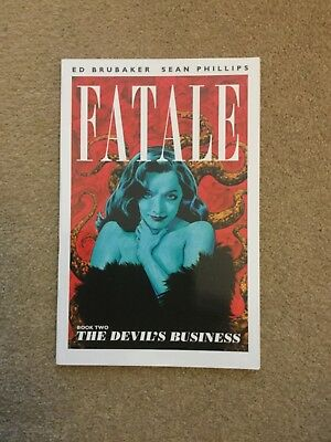 Fatale: The Devil'S Business Book 2 By Ed Brubaker - Pbk Gn New/mint Condition