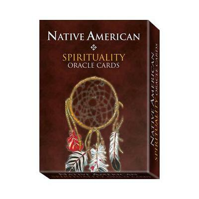 Native American Spirituality Oracle Cards by Laura Tuan, Massimo Rotundo (ill...