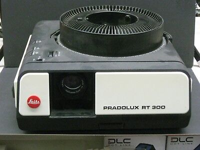 Leica pradolux RT300 slide projector with Leica lens sold as is no returns