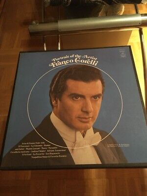 Franco Gorelli 3 LP Box Portrait Of The Artist (f)
