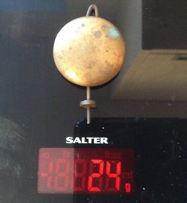 Antique Vintage BRASS Clock Pendulum for spares/repairs/parts - 24g