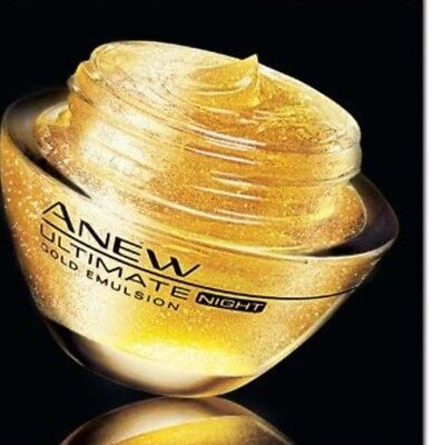Avon Anew ultimate gold emulsion da notte