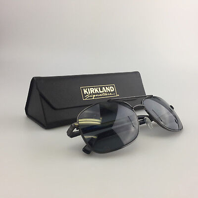 646dc0c026b91 Kirkland Signature Rx Sunglasses Frames Only 1084 Brookhaven Gunmetal Black