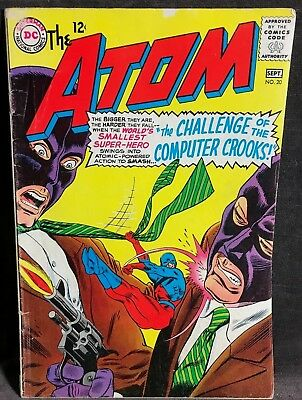 "VTG DC The Atom ""Challenge of the Computer Crooks""  Comic Book Sept No.20"