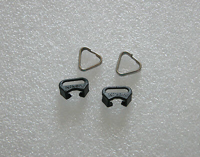 Genuine Nikon camera strap lugs ( 1 pair ) - Used