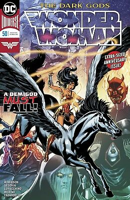 Wonder Woman #50 Dc Universe - 1St Print - Bagged And Boarded. Free Uk P+P!