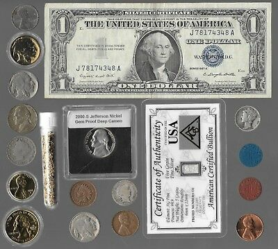 Silver Dollar Barber Mercury Liberty Indian War WWII US Coin Collection Gold K2
