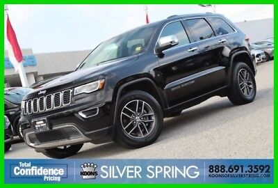Jeep Grand Cherokee Limited 2017 Limited Used 3.6L V6 24V Automatic 4WD SUV Premium