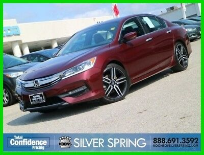 Honda Accord Sport 2016 Sport Used 2.4L I4 16V Automatic FWD Sedan Premium