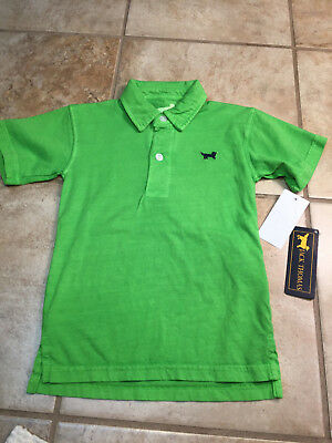 Boys Jack Thomas C68 Polo size 3T Washed Green Collared Shirt