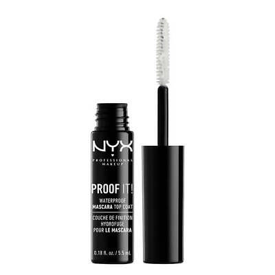 NYX Proof It! Waterproof Mascara Top Coat Eye Lash Makeup Clear PIMT01 Colorless