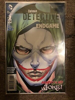 Detective Comics Endgame New 52 #1 Batman Movie Comics TV 1st Appearance Anarky