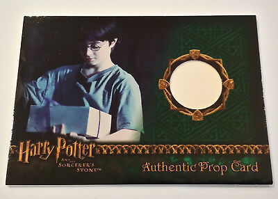 Harry Potter and the Sorcerer's Stone Cake Box Prop Card Birthday HP SS 289/490