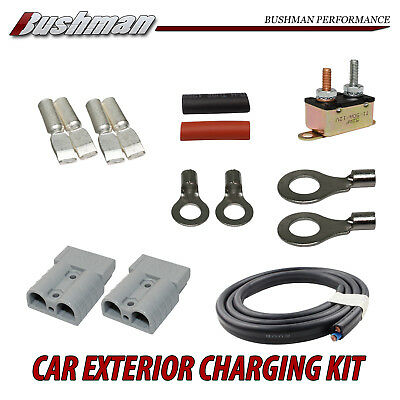 H Duty Charging Kit 10M Cable Wire 6mm 50A Anderson Plug Circuit Breaker 12-24V