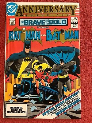 Brave and the Bold 1st 200 DC Lot of 1 1983 1st App Katana, Geo-Force, Halo Bar