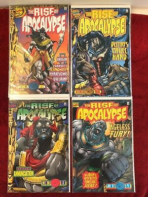 Rise of Apocalypse 1 2 3 4 Marvel Run of 4 Complete 1996 VF+ Kavanagh Pollina